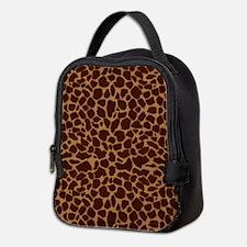 Giraffe Skin Patter Neoprene Lunch Bag