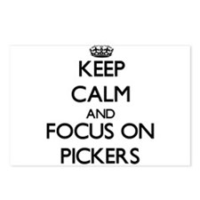 Keep Calm and focus on Pi Postcards (Package of 8)