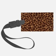 Giraffe Skin Patter Luggage Tag