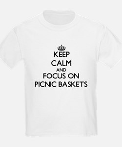 Keep Calm and focus on Picnic Baskets T-Shirt