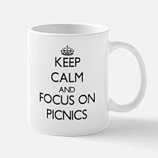 Keep Calm and focus on Picnics Mugs