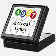 1957 A Great Year Keepsake Box