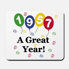 1957 A Great Year Mousepad