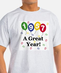 1957 A Great Year T-Shirt