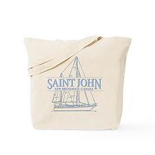 St. John NB - Tote Bag