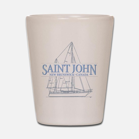 St. John NB - Shot Glass