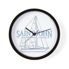 St. John NB - Wall Clock