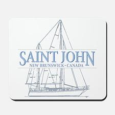 St. John NB - Mousepad