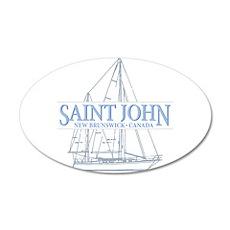 St. John NB - Wall Decal