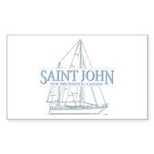 St. John NB - Decal