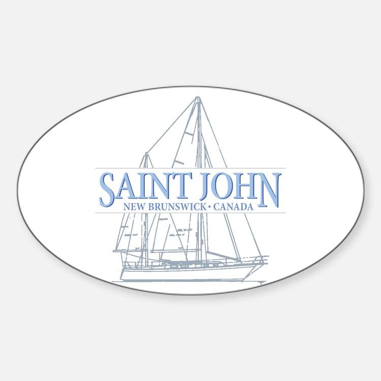 St. John NB - Decal
