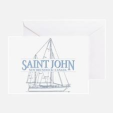 St. John NB - Greeting Card