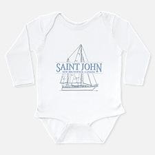 St. John NB - Long Sleeve Infant Bodysuit