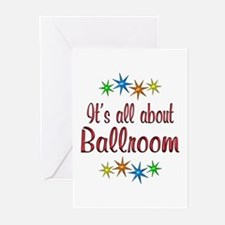 About Ballroom Greeting Cards (Pk of 10)