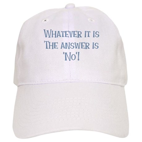 The Answer is No Cap
