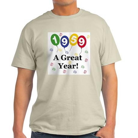 1959 A Great Year Light T-Shirt