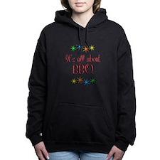About BBQ Women's Hooded Sweatshirt