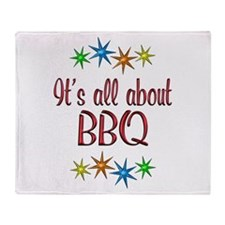 About BBQ Throw Blanket