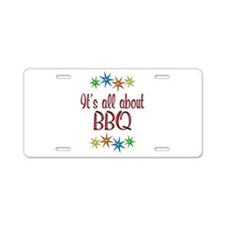 About BBQ Aluminum License Plate
