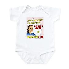 Sin in Wisconsin #2 Infant Bodysuit