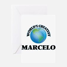World's Greatest Marcelo Greeting Cards