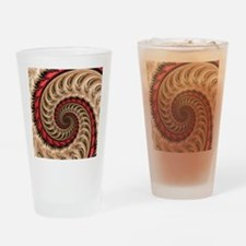 Cute Psychedelic Drinking Glass
