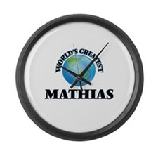 World's Greatest Mathias Large Wall Clock