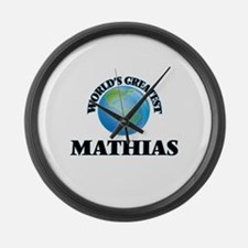 World's Greatest Mathias Large Wall Clock
