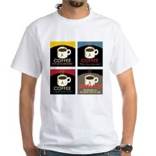Star Trek Coffee Art T-Shirt