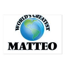 World's Greatest Matteo Postcards (Package of 8)