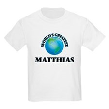 World's Greatest Matthias T-Shirt