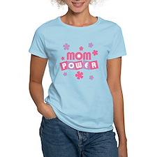 Mom Power Women's Light Pink T-Shirt