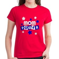 Mom Power Women's Red T-Shirt