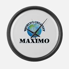 World's Greatest Maximo Large Wall Clock
