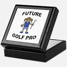 Future Golf Pro (Girl) Keepsake Box
