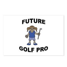 Future Golf Pro (Girl) Postcards (Package of 8)