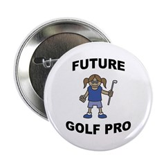 Future Golf Pro (Girl) Button