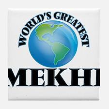 World's Greatest Mekhi Tile Coaster