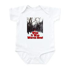 I Wish It Was Winter Now! Infant Bodysuit