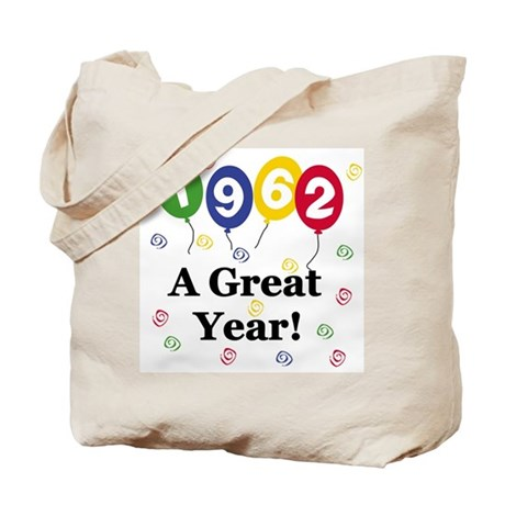 1962 A Great Year Tote Bag