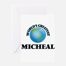 World's Greatest Micheal Greeting Cards