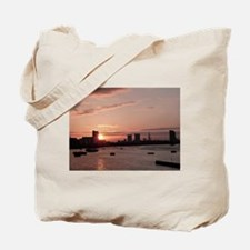 Thames in Pink Tote Bag