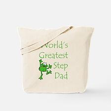Greatest Stepdad Tote Bag
