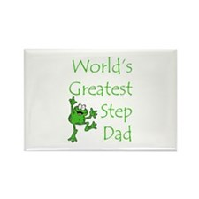 Greatest Stepdad Rectangle Magnet