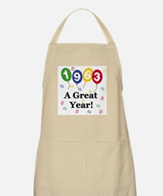 1963 A Great Year BBQ Apron