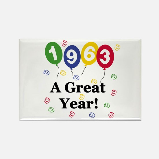 1963 A Great Year Rectangle Magnet