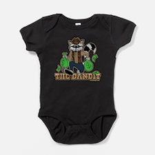The Bandit Raccoon Design Baby Bodysuit