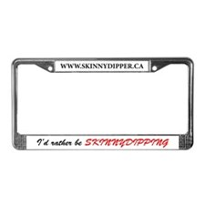 Skinnydipper License Plate Frame
