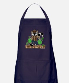 The Bandit Raccoon Design Apron (dark)
