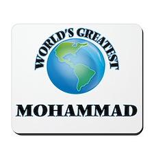 World's Greatest Mohammad Mousepad